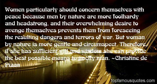 Christine De Pizan Quotes