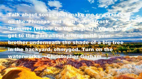 Christopher Gorham Quotes