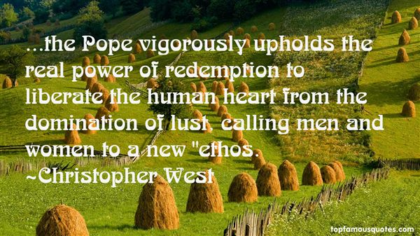 Christopher West Quotes
