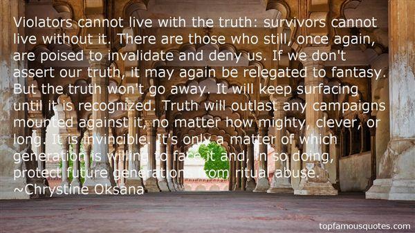 Chrystine Oksana Quotes