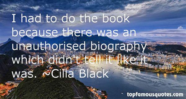 Cilla Black Quotes