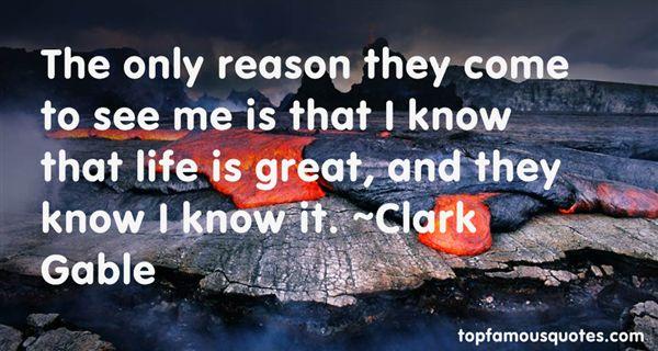 Clark Gable Quotes