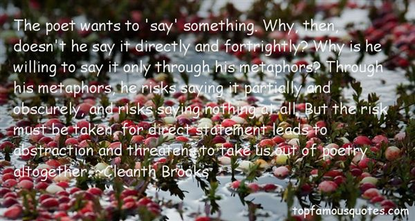 Cleanth Brooks Quotes
