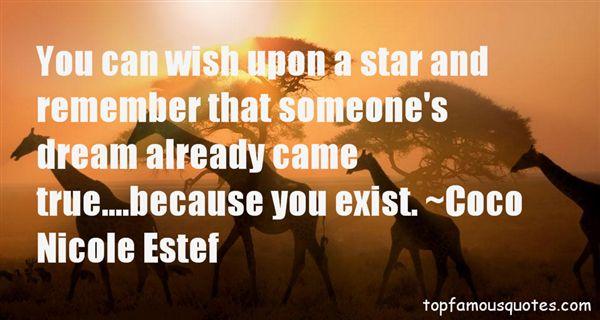 Coco Nicole Estef Quotes
