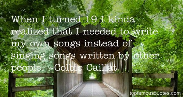 Colbie Caillat Quotes