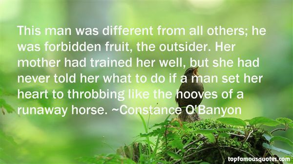 Constance O'Banyon Quotes