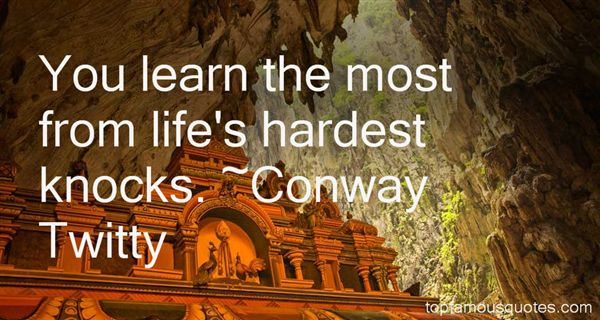 Conway Twitty Quotes