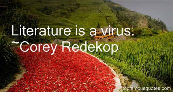 Corey Redekop Quotes