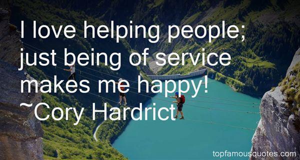 Cory Hardrict Quotes