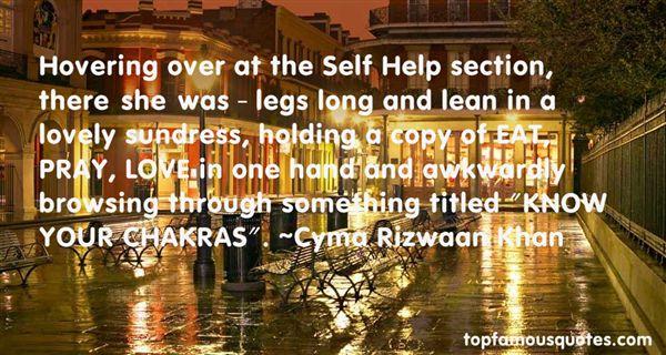 Cyma Rizwaan Khan Quotes
