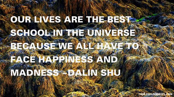 Dalin Shu Quotes