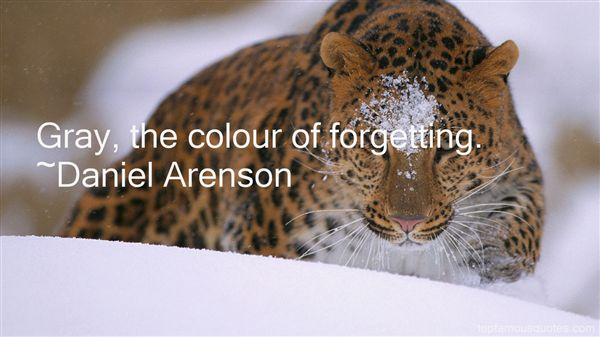 Daniel Arenson Quotes