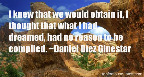 Daniel Díez Ginestar Quotes