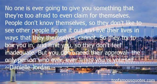 Danielle Jordan Quotes