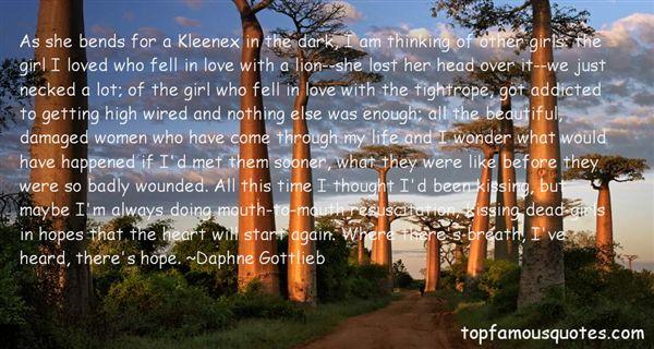 Daphne Gottlieb Quotes