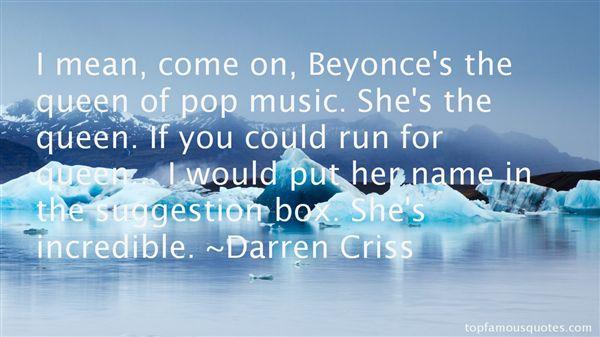 Darren Criss Quotes