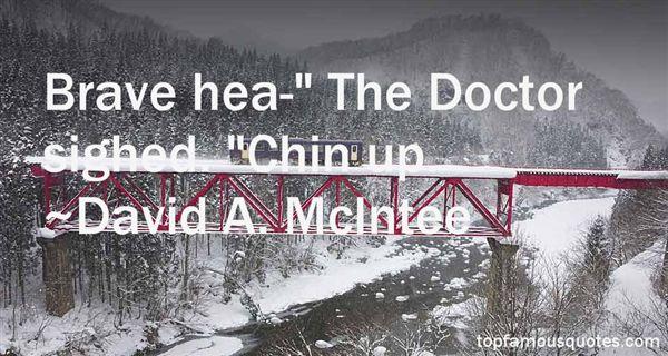 David A. McIntee Quotes