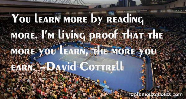 David Cottrell Quotes