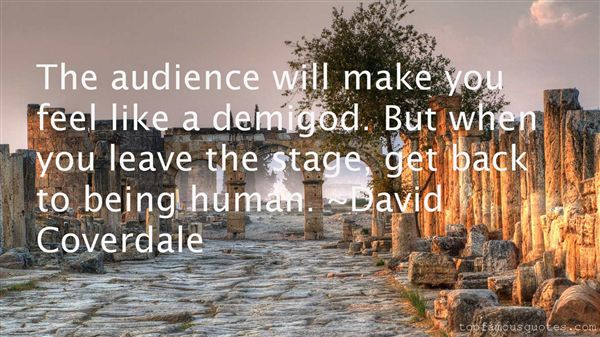 David Coverdale Quotes