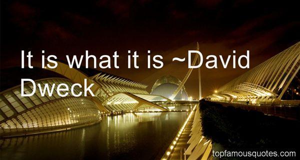 David Dweck Quotes