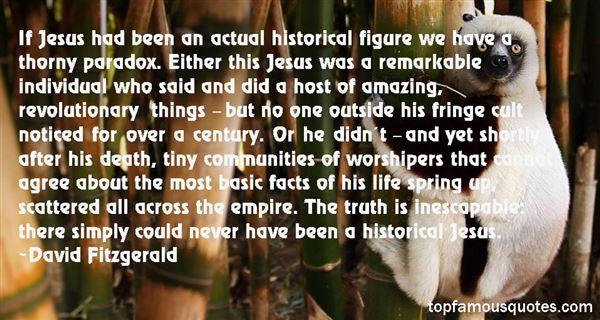 David Fitzgerald Quotes