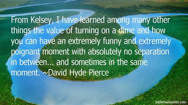 David Hyde Pierce Quotes