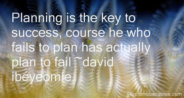 David Ibeyeomie Quotes