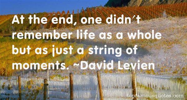 David Levien Quotes