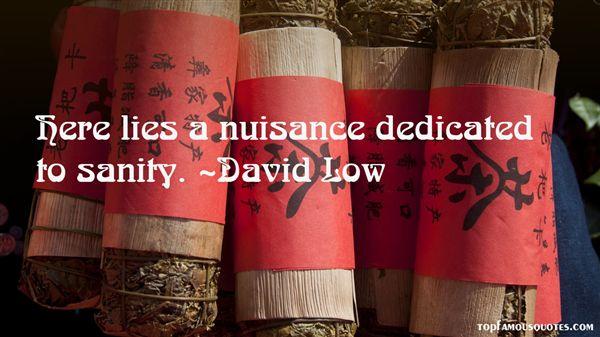 David Low Quotes