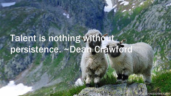 Dean Crawford Quotes