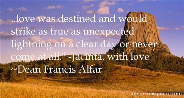 Dean Francis Alfar Quotes