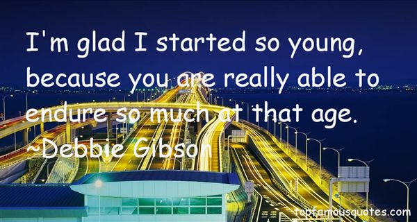 Debbie Gibson Quotes