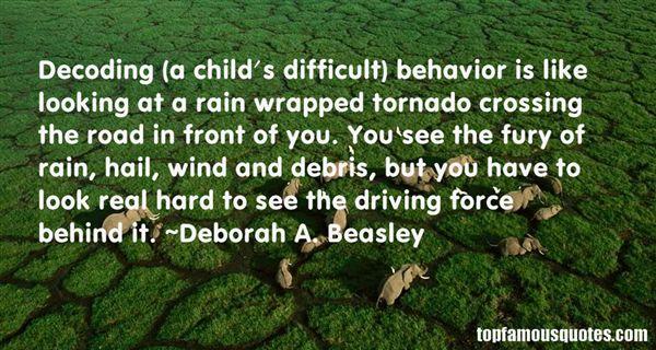 Deborah A. Beasley Quotes