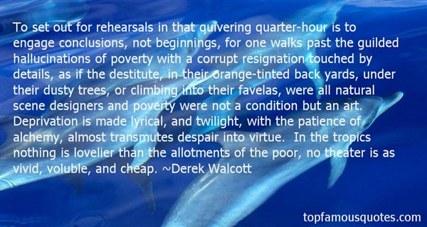 Derek Walcott Quotes