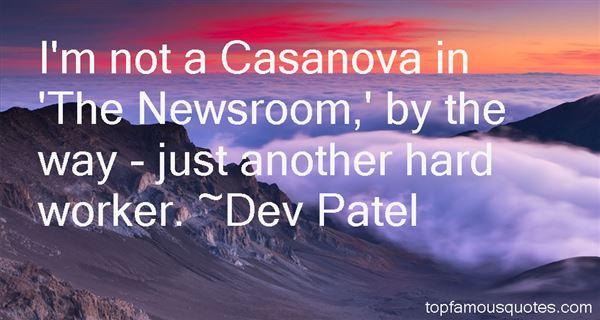 Dev Patel Quotes