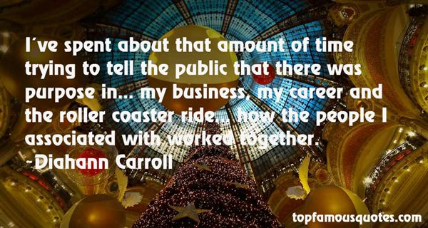 Diahann Carroll Quotes