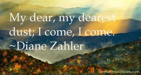 Diane Zahler Quotes