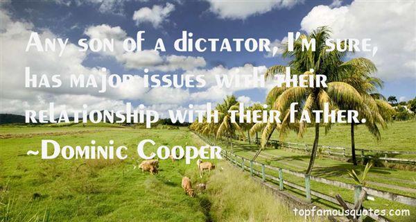 Dominic Cooper Quotes