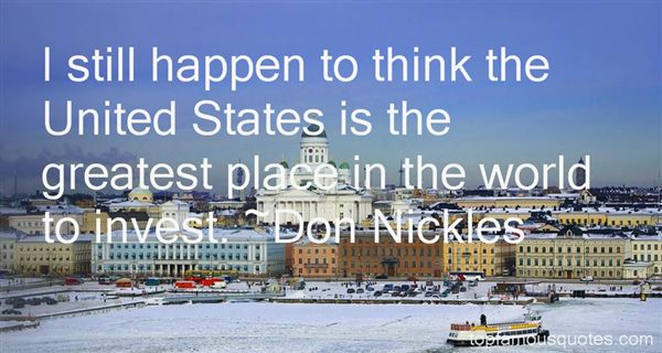 Don Nickles Quotes
