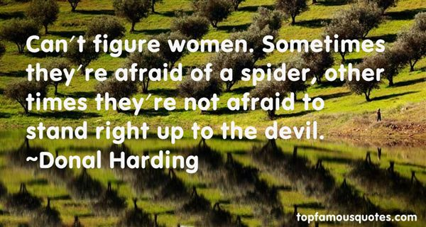 Donal Harding Quotes