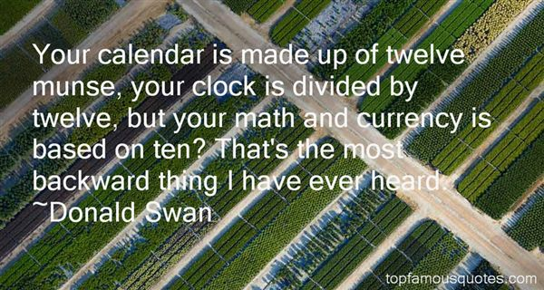Donald Swan Quotes