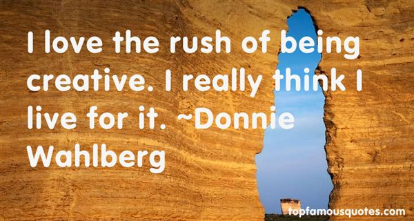 Donnie Wahlberg Quotes