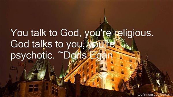 Doris Egan Quotes