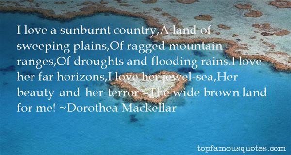 Dorothea Mackellar Quotes