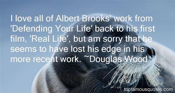 Douglas Wood Quotes