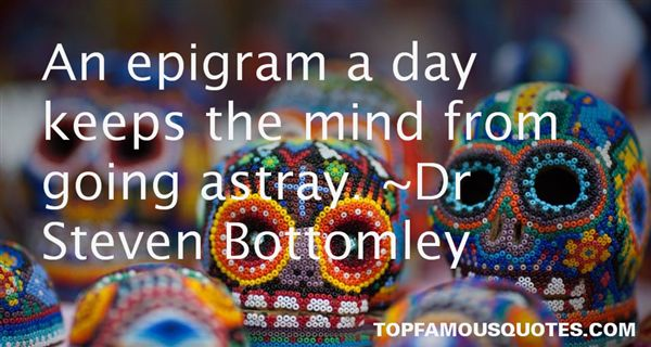 Dr Steven Bottomley Quotes