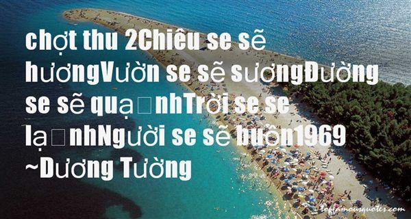 Duong Tu?ng Quotes