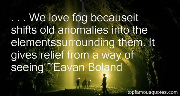 Eavan Boland Quotes
