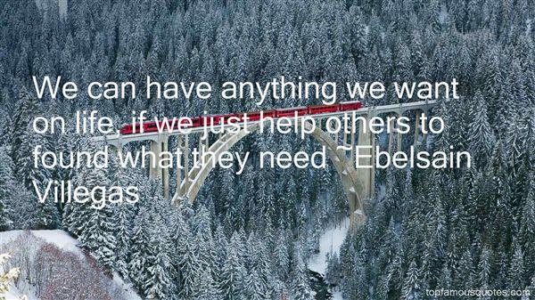Ebelsain Villegas Quotes