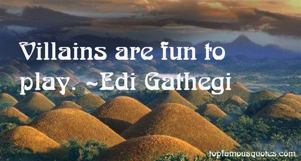 Edi Gathegi Quotes